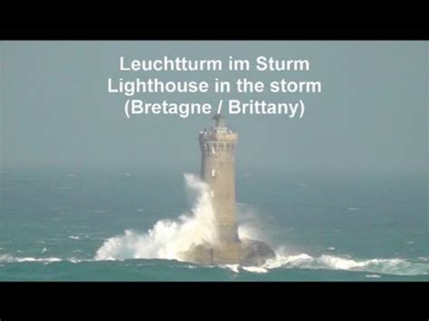 leuchtturm le leuchtturm im sturm porspoder lighthouse in the