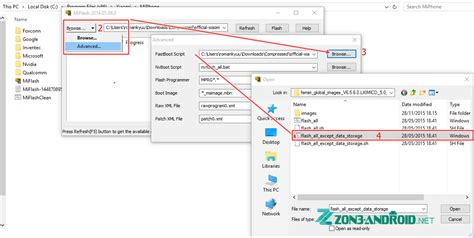 cara mudah flashing xiaomi mi4i inwepo cara flashing xiaomi mi4i zon3 android