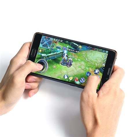 Mobile Joystick On Screen New metal sucker joystick for touch screen mobile phone alex nld