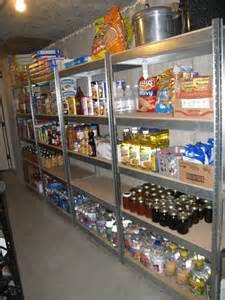 Food Pantry Shelving Ideas Cooking With My Food Storage Where Do I Put My Food
