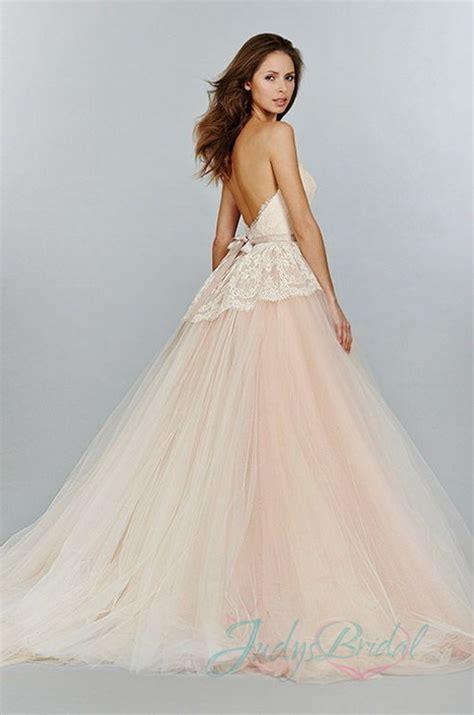 blush colored wedding dresses 13 sweety blush pink colored wedding dresses