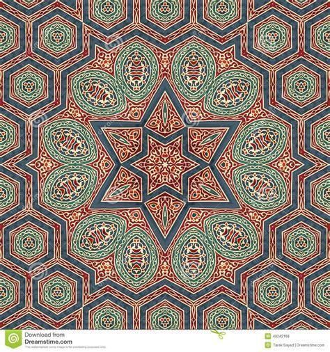 art pattern maker seamless khayameya pattern design 011 stock photo image