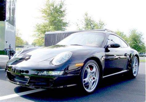 porsche sports car black porsche 911 s type 997 german sports car