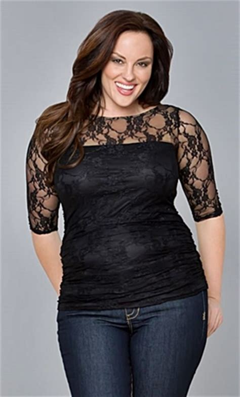 Simply Bigsize Shirt plus size dressy tops for evening wear style