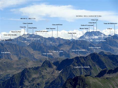 delle alpi marittime cima sud di malat 232 rra 2871 m