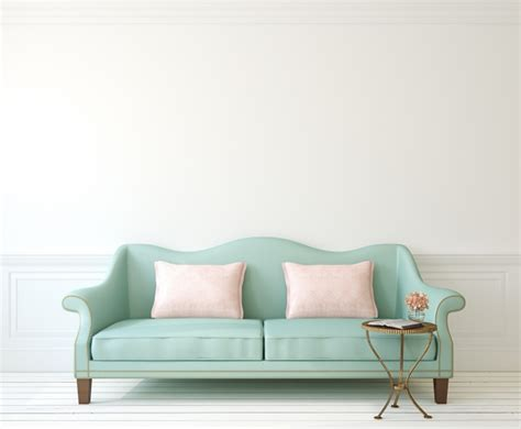 Blue Couch And Loveseat 文艺小清新沙发图片