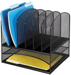 File Racks Desks by Mesh Desk Organizer File Storage Folder Holder Rack Metal
