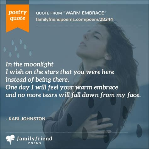 warm embrace hurting poem