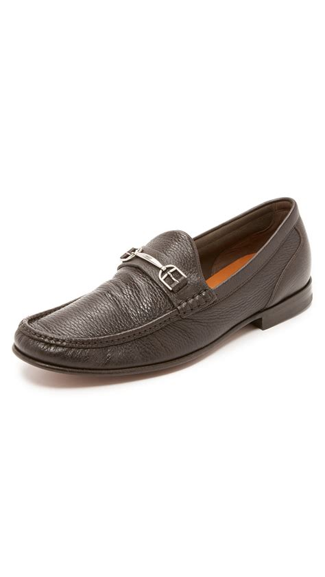 bally loafers mens bally surrey loafers in brown for lyst