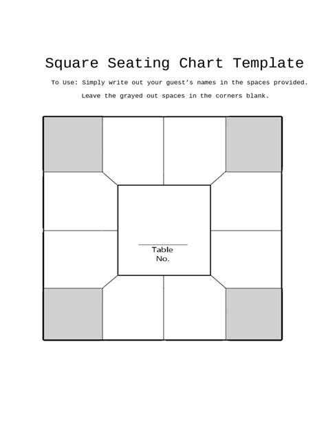 items similar to printable wedding seating chart template diy