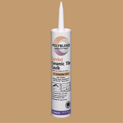 shop tec pack charcoal gray paintable caulk at custom building products polyblend 22 10 5 oz