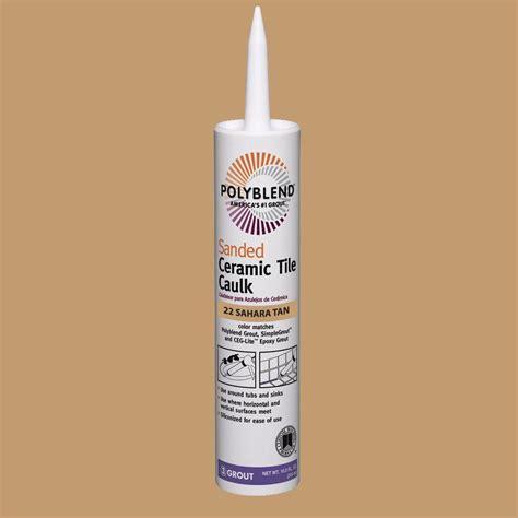 light beige color caulk for custom building products polyblend 22 10 5 oz