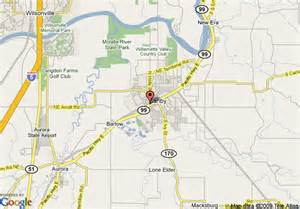 map of canby oregon map of canby country inn canby