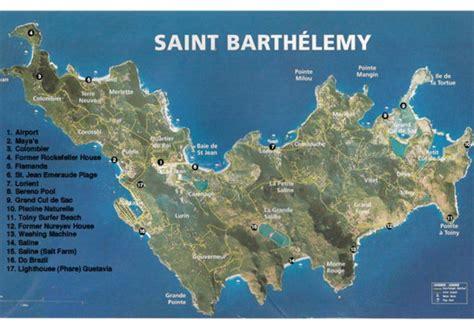 st barts map st barts map