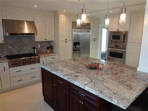 Dark Grey Granite Countertops With White Cabinets