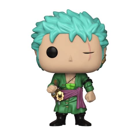 Dijamin Funko Pop Animation 68 roronoa zoro pop vinyl figure at mighty ape nz