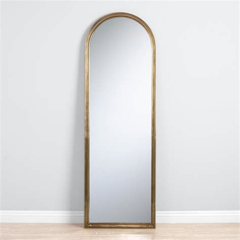 arched floor mirror ourcozycatcottage