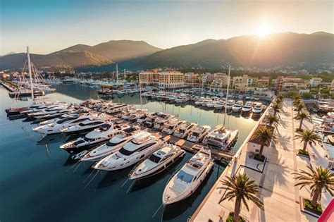 montenegro porto term berths for yachts up to 180m porto