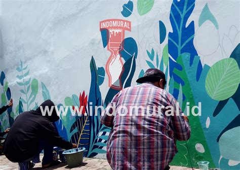 indomural jasa lukis dinding indonesia mural