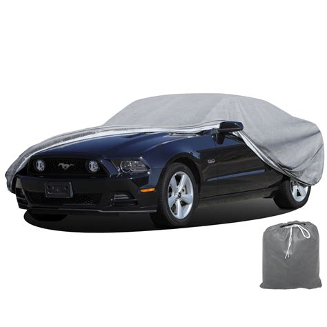 oxgord car cover breathable water resist weather protective car cover