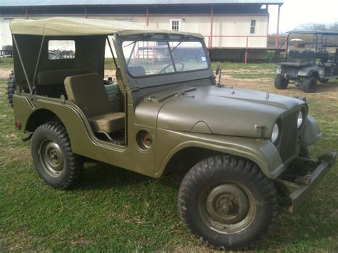vintage willys jeep m38a1 military jeep classic willys jeep m38a1 1953 for sale