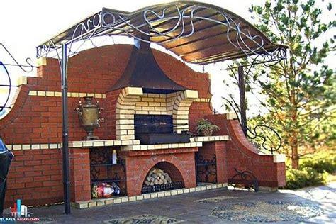 mauerwerk outdoor kamin pläne 288 besten grille ogrodowe wędzarnie chlebowe