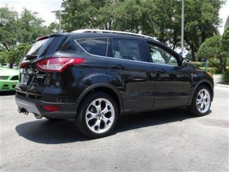 2014 Ford Escape Msrp by Export New 2014 Ford Escape Titanium Black On Black
