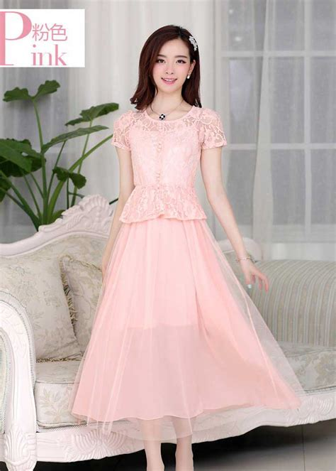 Dress Brokat dress pesta brokat cantik