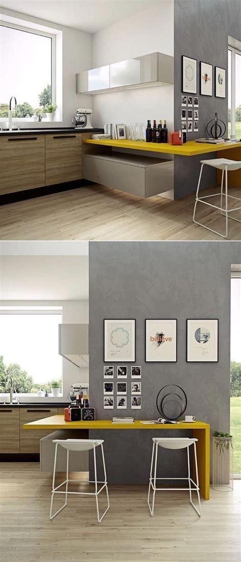 small modern kitchen wood countertops
