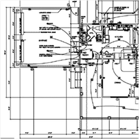 floor plan with electrical layout what s included in a house plan order at familyhomeplans com