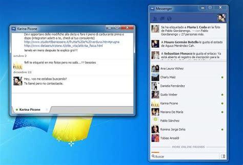 trasforma facebook in windows 7 descargar facebook messenger para windows 7