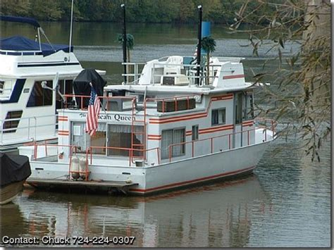 river queen house boat 1974 river queen houseboat by owner boat sales