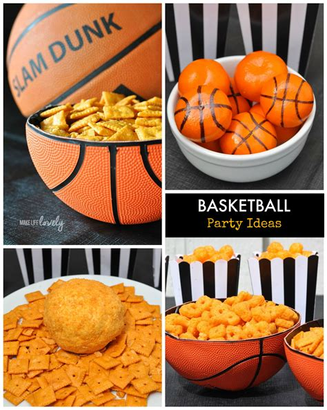 New Home Party Decorations by Creative Basketball Party Ideas Make Life Lovely
