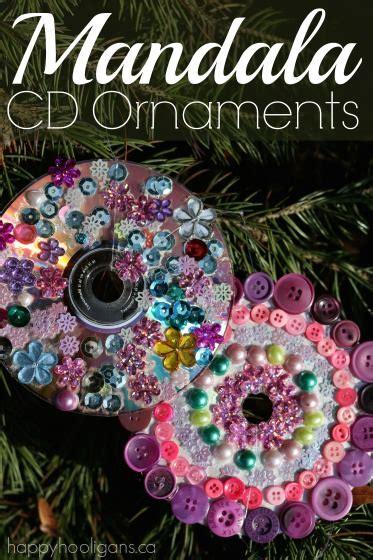 cd mandala ornaments  kids   happy hooligans
