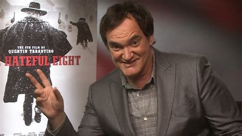 quentin tarantino jan interview the hateful eight quentin tarantino interview youtube