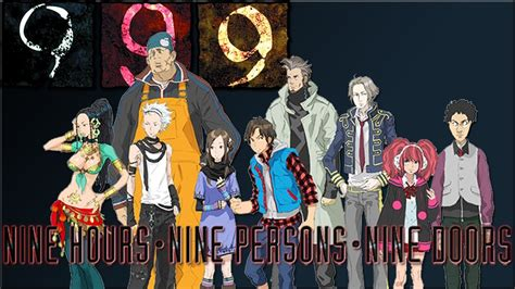 9 Persons 9 Hours 9 Doors by 999 Spike Chunsoft Bringt Nine Persons Nine Hours Nine