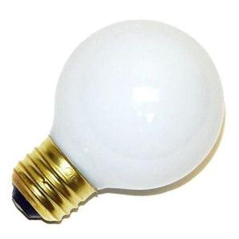 vanity globe light bulbs bulbrite 320025 g19 decor vanity globe style light bulb