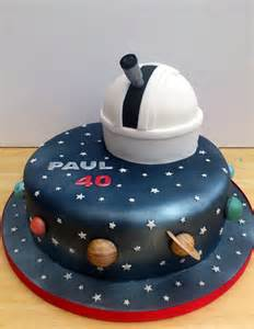 astronomy themed novelty cake with observatory 171 susie s cakes