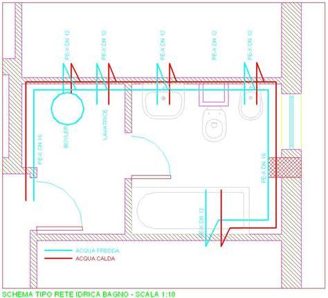 impianto bagno schema impianto idrico casa duylinh for