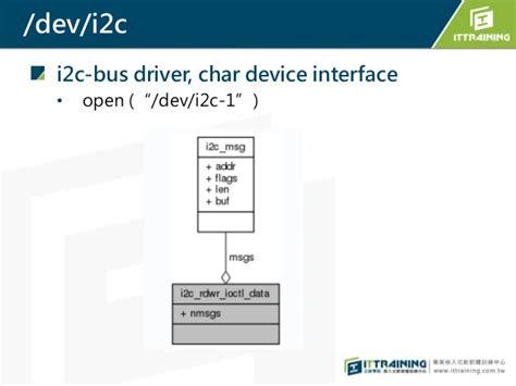 tutorial write linux driver i2c linux driver exle