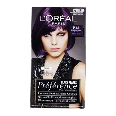 L Oreal Hair Color buy l oreal preference hair colour purple p38