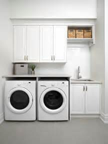 Kitchen Laundry Ideas traditional single wall laundry room idea in toronto with an