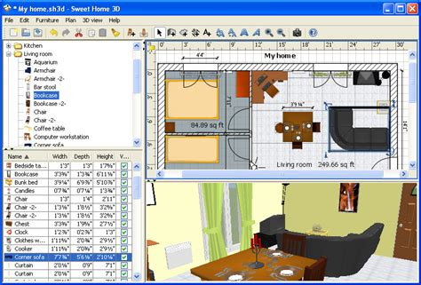 home design software free 2d freeware download sweet car 3d