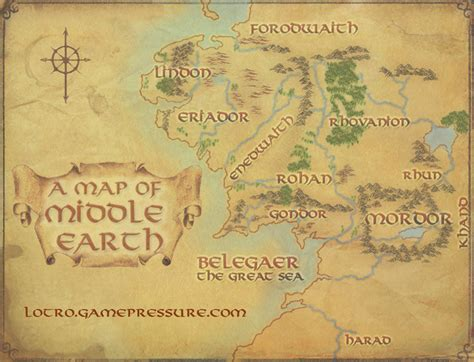 lord of the rings middle earth map lord of the rings map wallpaper wallpapersafari