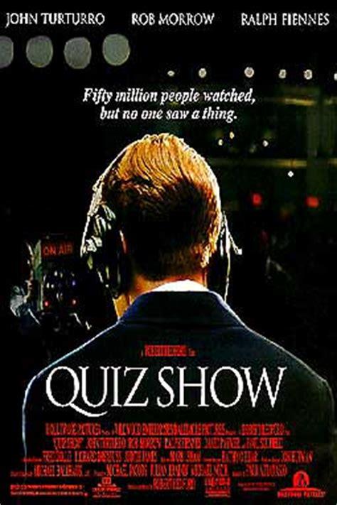 film review quiz show quiz show 2 sided original movie poster ralph fiennes ebay