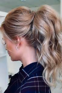 best 25 wedding ponytail hairstyles ideas on