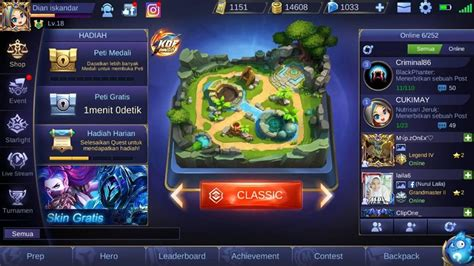 mobile legends top  diamond  skin starlight murah