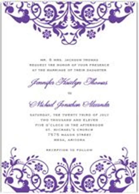 purple and orange wedding invitation kits awesome wedding invitation template violet wedding