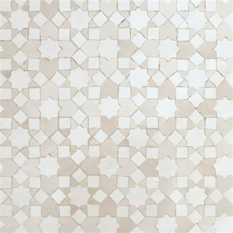 Mosaic Tile For Kitchen Backsplash White Moroccan Kitchen Tile White Moorish Tiles