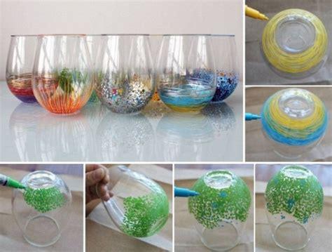 diy colorful vase decor home design garden